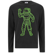 Billionaire Boys Club Men's Moon Man Crew Neck Sweatshirt - Black