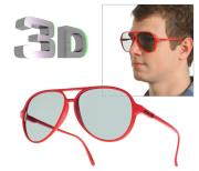 3D Glasses - White 1White
