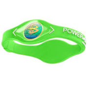 Power Balance -The Original Performance Wristband   Lime Green With White Lettering - Large LLime Green