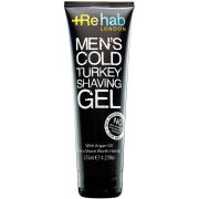 Rehab Men's Cold Turkey Shaving Gel (125ml)