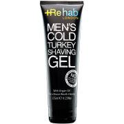 Rehab Men's Cold Turkey Shaving Gel (125ml)
