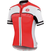 Castelli Free AR 4.0 Jersey - Red/White/Black