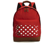 Mi-Pac Polka Backpack - Bright Red