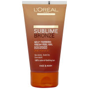 L'Oreal Paris Sublime Bronze Self Tanning Fresh Feel Gel (150ml)