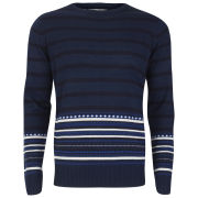 Brave Soul Men's Hugo Jumper - Azure