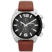 Diesel Men's Overflow 49mm Leather Watch - Stainless Steel