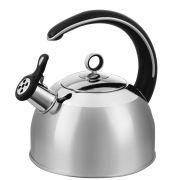 Morphy Richards Accents 2.5 Litre Whistling Kettle - Stainless Steel