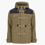 Brave Soul Men's Portugal Jacket - Tobacco/Navy