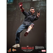 Hot Toys Iron Man Tony Stark (The Mechanic) 1:6 Scale Figure