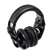 Hercules HDP G501  DJ-Adv Headphones - Black/Green