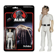 ReAction Alien Kane With Facehugger 3 3/4 Inch Action Figure