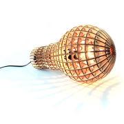 Wooden Bulb Lamp