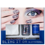 Nails Inc Bling It On Glitterball