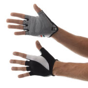 Santini Hook Gel Mitts - Black