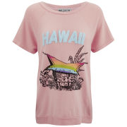 Wildfox Women's Hawaiian Rainbow Camden Top - Peaches