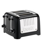 Dualit 4 Slot Lite Toaster - Metallic Black