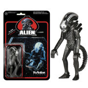 ReAction Metallic Alien 3 3/4 Inch Action Figure