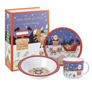 Queens Santa Melamine Set