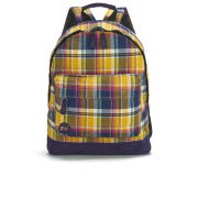 Mi-Pac Premium Tartan Backpack - Navy