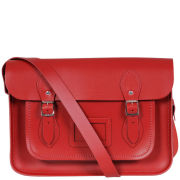 The Cambridge Satchel Company 15 Inch Leather Satchel - Red