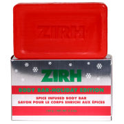 Zirh Peppermint Infused Body Bar Holiday Edition - 127.5g (Free Gift)