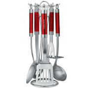 Morphy Richards Accents 5 Piece Tool Set - Red