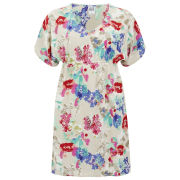 Vero Moda Women's Flower Joe Tunic Dress - White