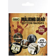 The Walking Dead - Badge Pack