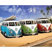 VW Californian Camper Camper - Mini Poster - 40 x 50cm