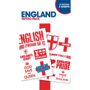England Symbols - Tattoo Pack
