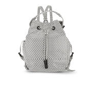 Opening Ceremony Women's Check-Patterned Izzy Leather Backpack - Black/White