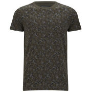 French Connection Men's Hang Fire T-Shirt - Black Ink