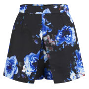 Girls On Film Women's Floral Print Skort - Blue