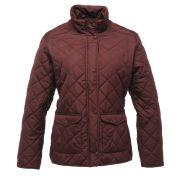 Regatta Women's Missy Quilted Jacket - Dark Burgundy - 8 8Purple
