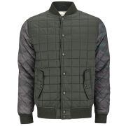 Brave Soul Men's Cleveland Jacket - Khaki/Navy Camo