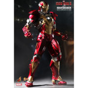 Hot Toys Iron Man Mark 17 Heartbreaker 1:6 Scale Figure