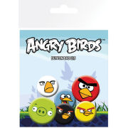 Angry Birds Faces - Badge Pack