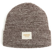 Farah Vintage Men's Ribbed Beanie - Bordeaux Marl