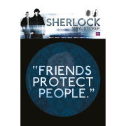 Sherlock Friends Protect - Vinyl Sticker - 10 x 15cm