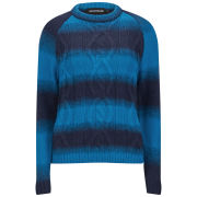 House of Holland Women's Diabolico Knit Jumper - Blue