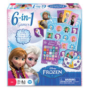 Disney Frozen 6 In 1 Games