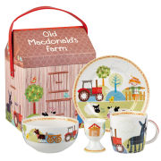 Queens Old MacDonald Farm 4 Piece Breakfast Set