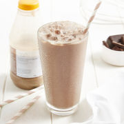Deliciously Different Velvety Chocolate Shake and Go