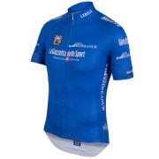 Santini Giro d'Italia 2015 King of the Mountain Short Sleeve Jersey - Blue