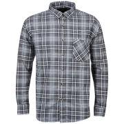 Brave Soul Men's Bate Long Sleeve Shirt - Black