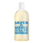 Compagnie De Provence Liquid Marseille Soap Refill- Mediterranean Sea (1l)
