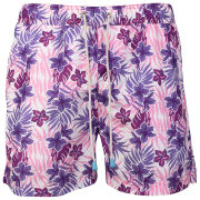 Oiler & Boiler Men's Classic Swim Short - Purple Floral