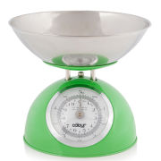 Cook In Colour 5kg Dome Kitchen Scales - Green