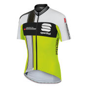 Sportful Gruppetto Aero Jersey - Yellow Fluo/Black