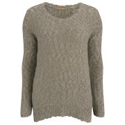 BOSS Orange Women's Wigrun Knitwear - Dark Beige